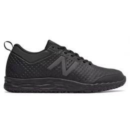 New Balance Black Slip Resistant Fresh Foam Mens Sneakers MID806K1
