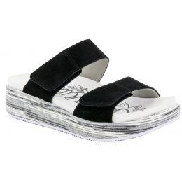Alegria Mixie Gray Harbor Womens Comfort Adjustable Strap Sandals MIX-296