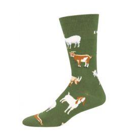 Socksmith Green Silly Billy Mens Socks 1 pair