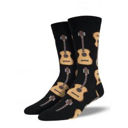SockSmith Mens Acoustic Guitar Socks MNC202