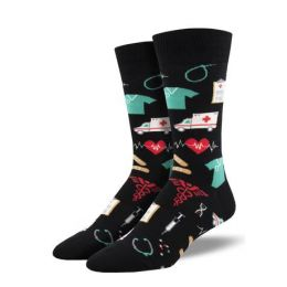 SockSmith Mens Healthcare Heroes Socks MNC2360