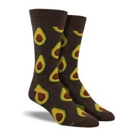 SockSmith Brown Men's Avocado Socks MNC527