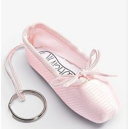 Pillows for Pointes Euro Pink Unisex Pointe Shoe Keychain MPS