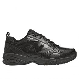 New Balance MX624 Black Leather Mens Trainer MX624AB2