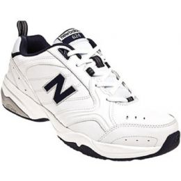 New Balance MX624 White Leather Mens Trainer MX624WN2