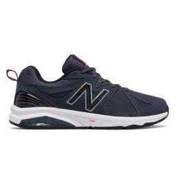 New Balance Black 857 Mens Comfort Athletic Shoe MX857
