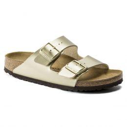 Birkenstock Gold Arizona Birko-Flor Womens Slide On Sandals N1016111