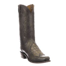 Lucchese Bynum Stone Goat Mens Western Boots N1177.73