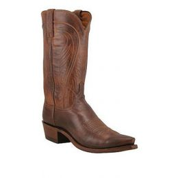 N1596-54  Ranch Hand Leather Lucchese  Mens Western Cowboy Boots