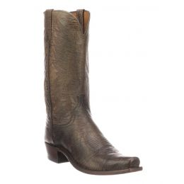 Lucchese Ivory Otis Mens Limited Release Western Boots N1675.73