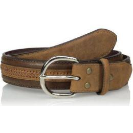N24260-02 Brown Genuine Leather Ariat Mens Belts