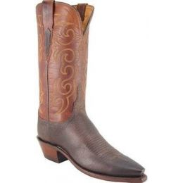 N4583.54 Brown Mad Dog Ranch Hand Lucchese Womens Cowboy Boots