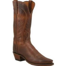 N4604-74 Burnished Ranch Hand Lucchese Womens Western Cowboy Boots