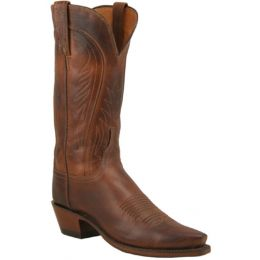 N4604 Tan Burnished Ranch Hand Lucchese Womens Cowboy Boots