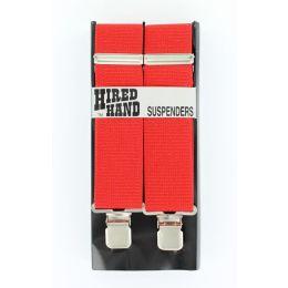 N85100-04 Red Gallus Suspenders