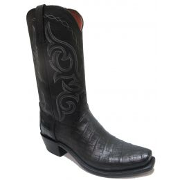 N9685.74 Black Ultra belly Lucchese Mens Boot