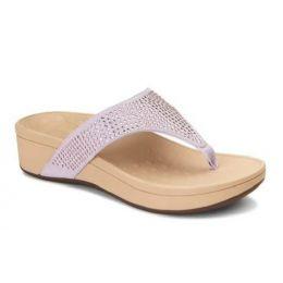 Vionic Pacific Naples Lavander Women's Platform Comfort Sandal