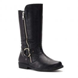 Rachel Black Northfield Toddler Side Zip Boots NORTHFIELD-BLK