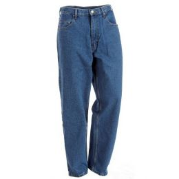 Berne Stone Washed 5-Pocket Mens Work Fit Jean P999-SWD