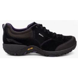 Dansko Black Paisley Suede Womens Hiker Shoe 4350-100241