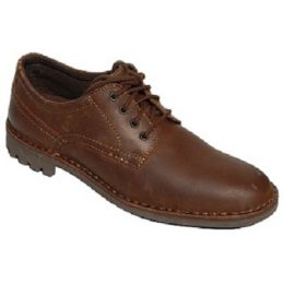 Bigston Palmer Brown Mens Dress Casual Oxford