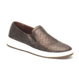 Aetrex Bronze Kenzie Slip-On Womens Comfort Shoes PC104