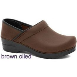 Professional Oiled Classic Closed-Back Clogs Dansko Womens Shoes