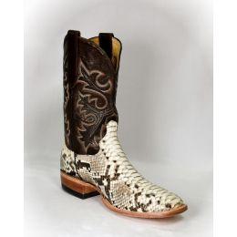 Cowtown Python Snake Skin Men's Western Boots Q818