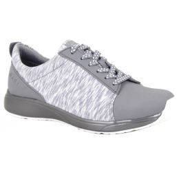 Alegria Traq Qest Grey Womens Comfort Lace Up Sneaker QES-5061