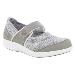 Alegria Traq Soft Grey Qutie Womens Comfort Shoes QUT-5058