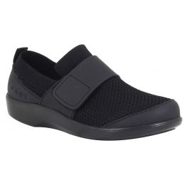 Alegria Traq Black Qwik Womens Comfort Shoes QWIK