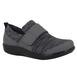 Alegria Traq Charcoal Qwik Womens Comfort Shoes QWIK