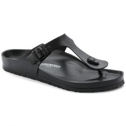 Birkenstock Black Gizeh Essentials Eva Womens Thong Sandals R128201
