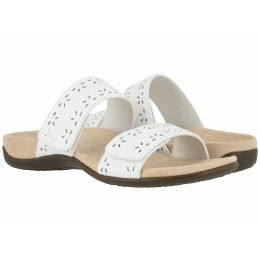 Vionic White Randi Comfort Slide On Sandals