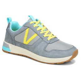 Vionic Light Grey Nubuck Rechelle Comfort Sneaker