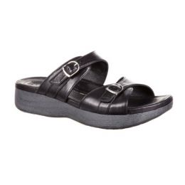 Rocky 4EurSole Black Golden Day Womens Sandals RKH150
