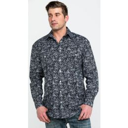 Panhandle Slim Verano Paisley Print Mens Long Sleeve Western Shirt R0S2156
