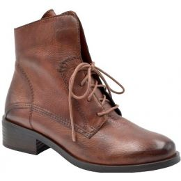 Bussola Women's Cognac Salvia Ruby Lace Up Ankle Bootie RUBY