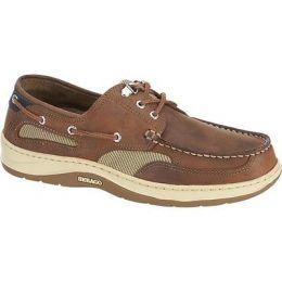 Sebago Clovehitch 11 Tan Leather Mens Boat Shoe B24367