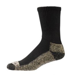 S2000 Black Sole Socks Non-Binding Extra Cushioning Aetrex Socks