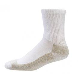 S2200 White Sole Socks Non-Binding Extra Cushioning Aetrex Socks