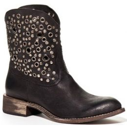 ZOEY Short Grommet Embellished Spirit by Lucchese Womens Cowboy Boots