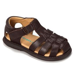 Rachel Sailor Fisherman Brown Kids Sandal SAILOR-BRN