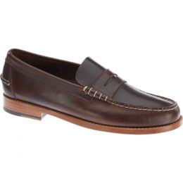 Sebago Lagacy Penny Loafer Brown leather Mens Casual B766088