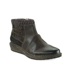 Aetrex Iron Tessa Sweater Womens Ankle Boots SD903