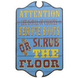 ATTENTION LIFE IS FULL OF CHOICES Montana Silversmiths Wall Hangings
