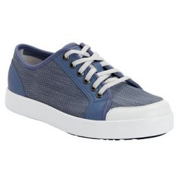 Alegria Sneaq Washed Blue Womens Comfort Shoe SNE-5405