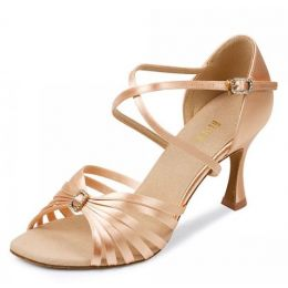 Ladies Bloch Rosalina Latin Dance Sandal With Quick Fit Buckle Flared