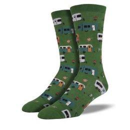 SockSmith Green Mens Camptown Socks SSM1322