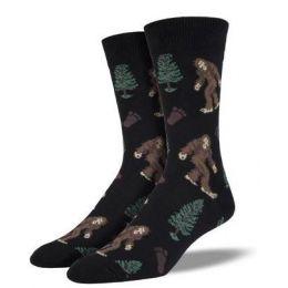 SockSmith Black Mens Bigfoot Socks SSM1423